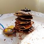 Czekoladowe pancakes z 3...