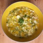 Klasyczna zupa zacierkowa