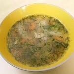 Aromatyczna zupa...