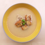 Pyszna zupa czosnkowa...