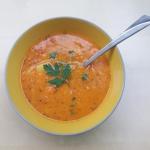 Zupa z czerwonej soczewic...