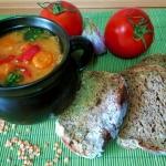 Zupa z czerwoną...