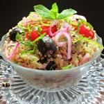 Salatka z komosy ryzowej ...