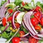 Ostra salatka Fit