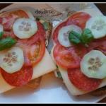 Piekielnie zdrowe kanapki...