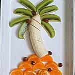 Kreatywny owocowy deser....