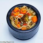 Szybka zupa z batatami