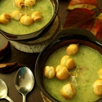 Zupa brokulowo – porowa...