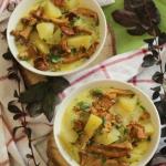 Zupa kurkowa z ziemniakam...