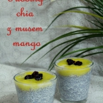 Pudding chia z musem...