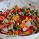 Salatka z pomidorow rzodk...