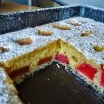 Ciasto z rabarbarem szybk...