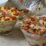 Salatka warstwowa najleps...