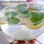 Woda z miętą i cytryną