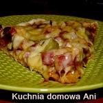 Pizza wiejska z boczkiem...