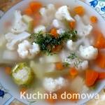 Zupa warzywna z kiszonym...