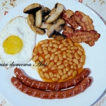 Full English breakfast cz...