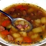 Zupa grochowa z ziemniaka...