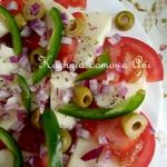 Salatka z mozzarella i wa...