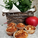 Muffinki szarlotkowe z...