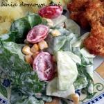 Sałata z warzywami III