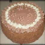 tort kakaowo-smietankowy ...