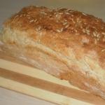 bardzo smaczny chleb ze...