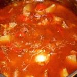 Pyszna zupa gulaszowa :-)
