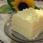 Ciasto Aniolek-smietanowy...