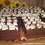 Ciasto  Orzechowa trufla
