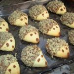 Ciastka jesienne jeżyki...