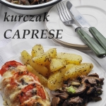 Kurczak Caprese z...