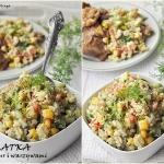 Salatka z kaszy bulgur z ...