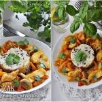 Kurczak z warzywami i pie...