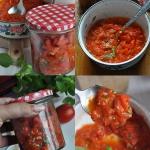 Sos ze swiezych pomidorow...