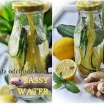 Sassy water . Napoj odchu...