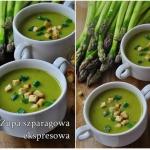 Zupa szparagowa ekspresow...