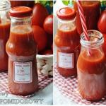 Domowy sok pomidorowy. So...