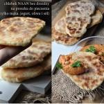 Jak zrobić chlebek naan...