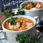 Zupa z łososiem z...