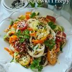 Makaron z warzyw