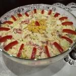Salatka z paluszkow surmi...