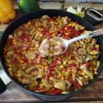 Filet w sosie chili