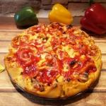 Krążkowa pizza z...