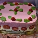 Ciasto truskawkowe...
