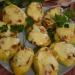 Pieczone ziemniaki...