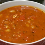 Zupa z fasolką