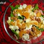 Salatka z mandarynkami