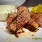 Stek wołowy z sosem z...