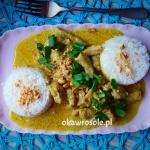 Kuczak curry z mleczkiem...